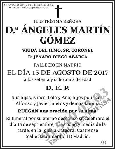 Ángeles Martín Gómez